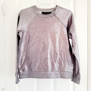 POLLY & ESTHER Metalic sweater XS